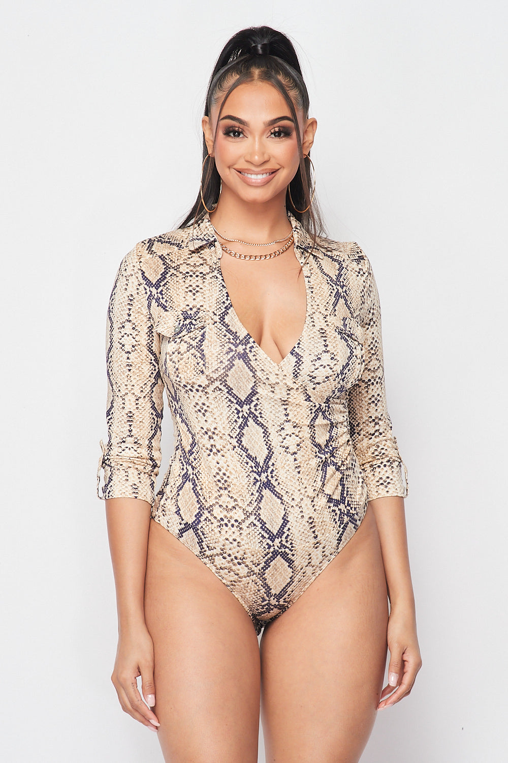 Wake and Snake Bodysuit