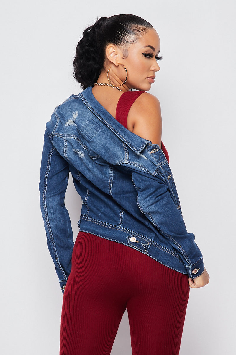 Sexy Gotta Have Denim Jacket - Fashion House USA