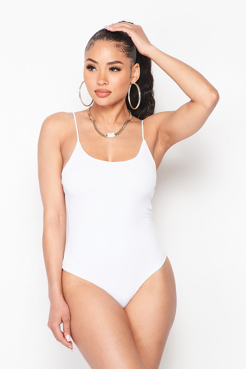 Solid Essential Day One Bodysuit - Fashion House USA