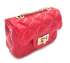 Chic X-Small Mini Jelly Crossbody Handbag-RED - Fashion House USA