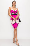 Be Bold Colorblock Dress - Fashion House USA