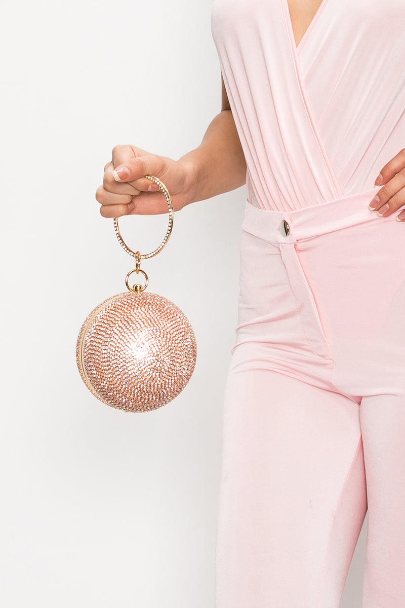 Evening Ball Clutch - Rosegold - Fashion House USA