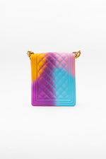Rainbow Quilt Crossbody Bag - Fashion House USA