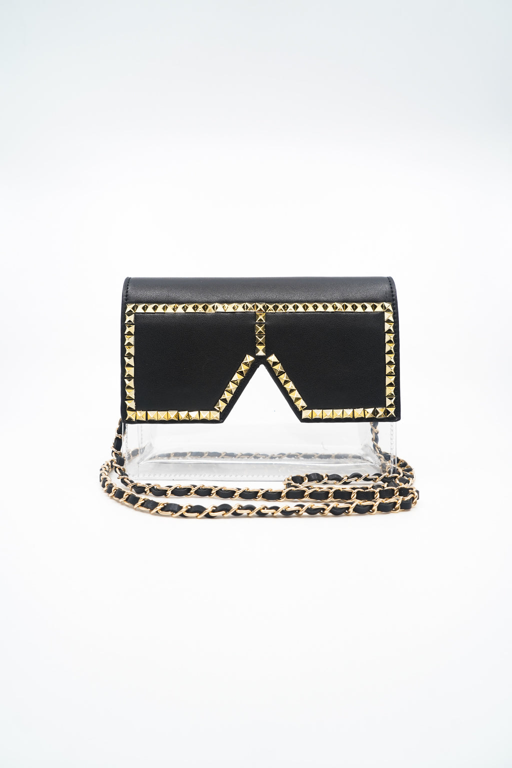 I'm A Star Clear Studded Glasses Bag - Fashion House USA