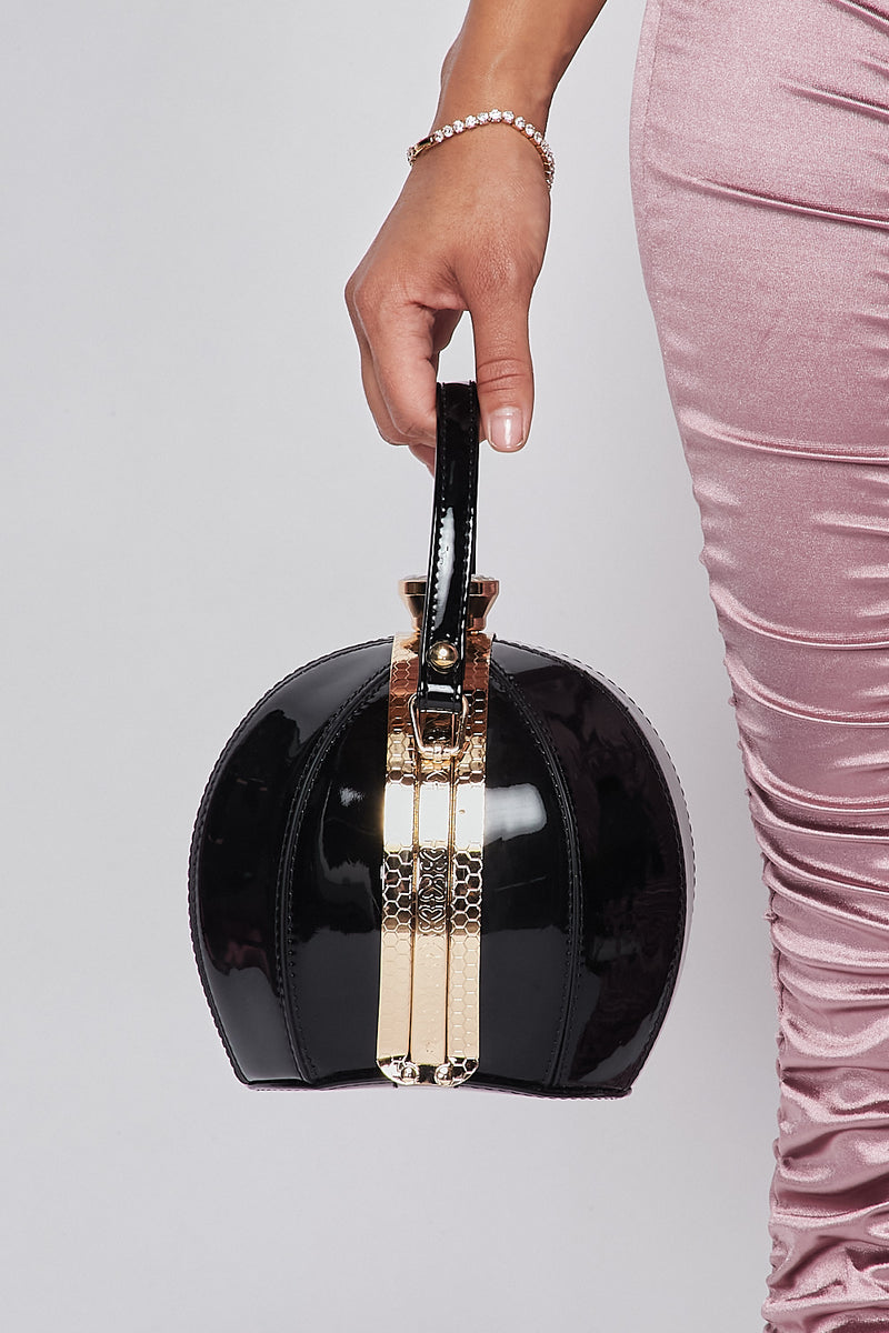 Sexy Solid Round Clutch - Fashion House USA