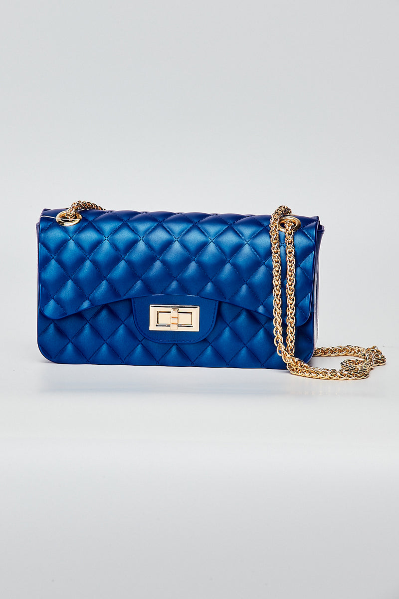 Quilt Jelly Bag-ROYAL BLUE - Fashion House USA