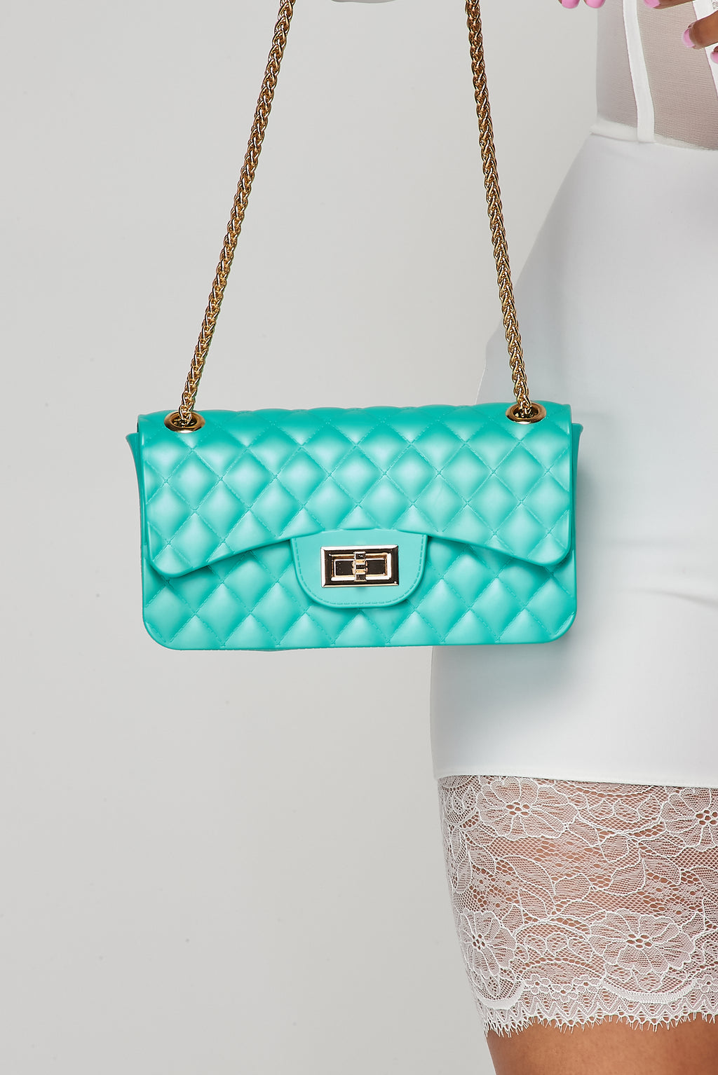 Iconic Mini Handbag-L.GREEN - Fashion House USA