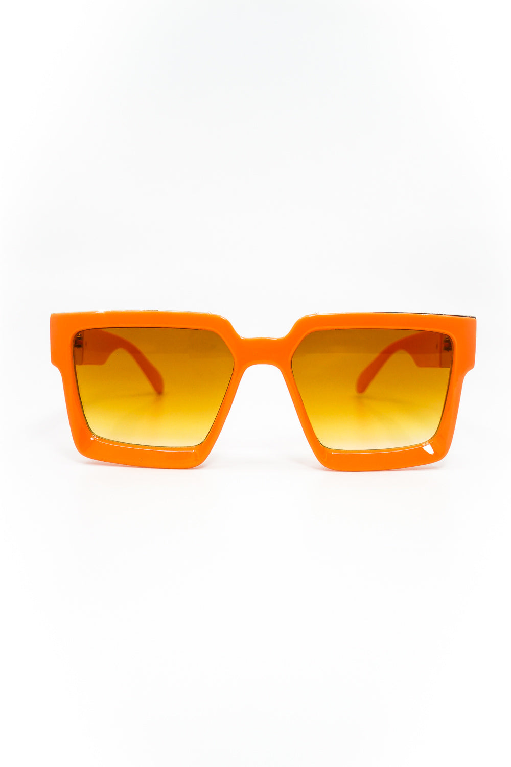 Seasons Hottest Thickened Square Frame Sunglasses in Orange - Fashion House USA
