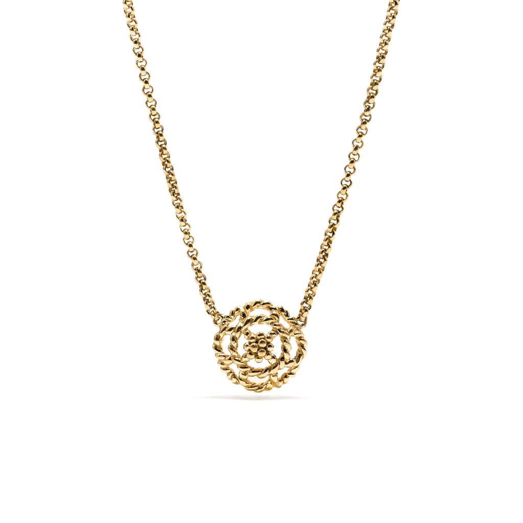 Gold Capucine Petite Charm Necklace