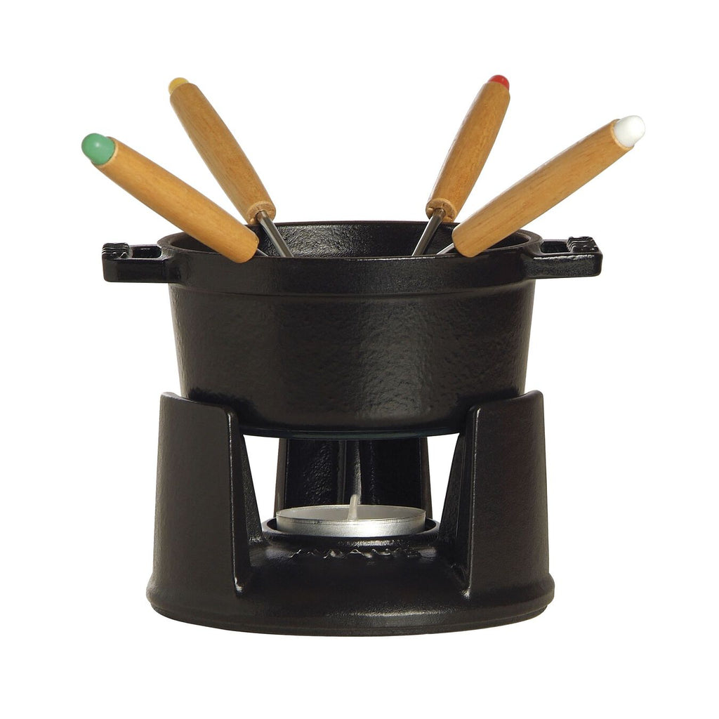 Mini Fondue Set - Black