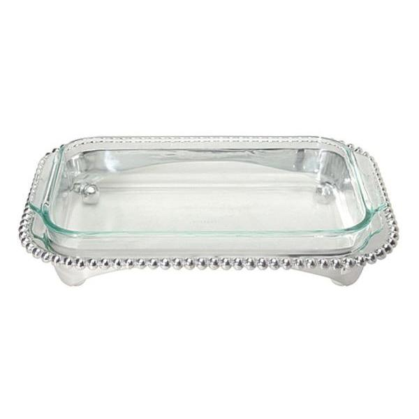 Pearled Oblong Casserole Caddy