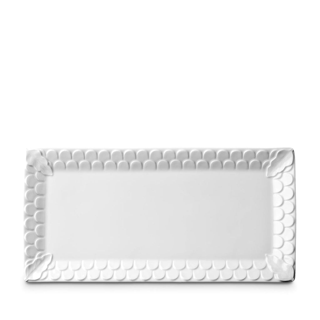 Aegean White Rectangular Platter