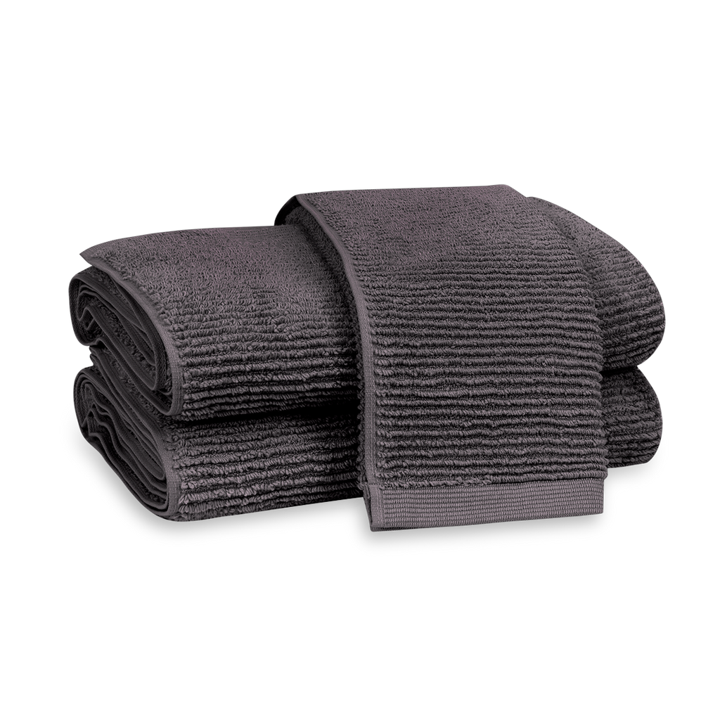 Aman Anthracite Towels