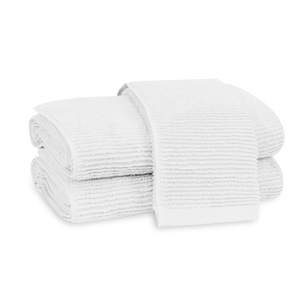 Aman White Towels