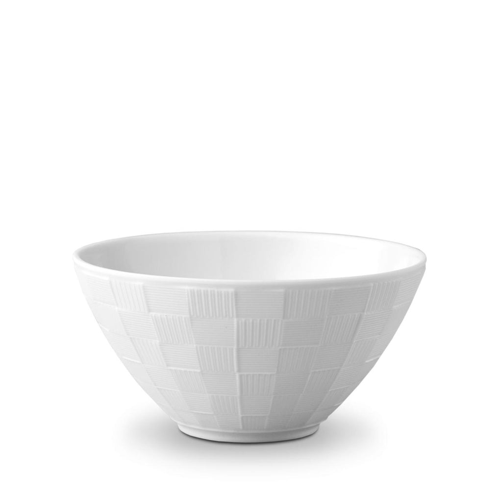 Byzanteum White Medium Bowl