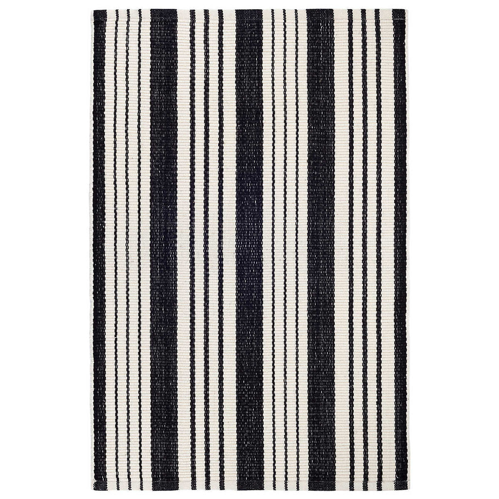 Birmingham Black Indoor/Outdoor Rug