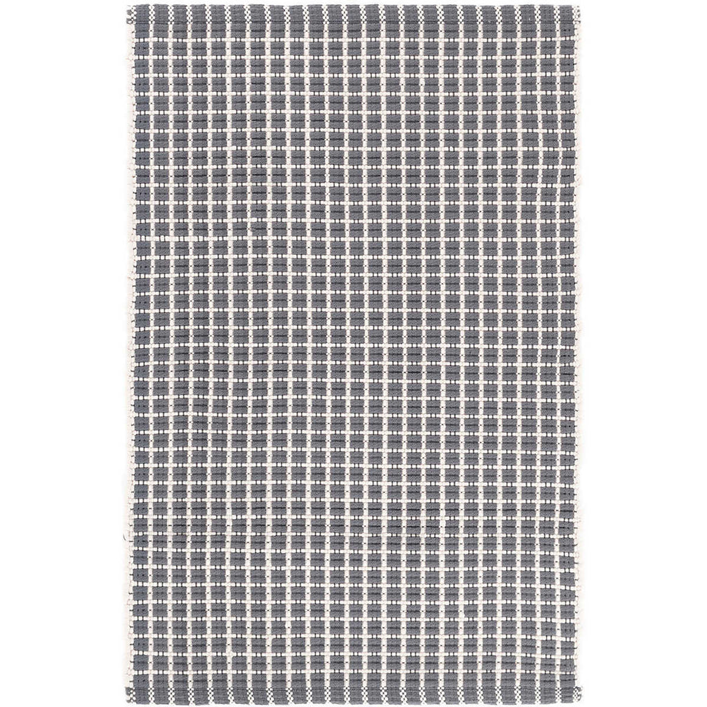 Gridiron Indoor/Outdoor Rug, Grey