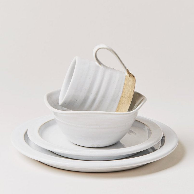 Silo 4-Piece Place Setting - White