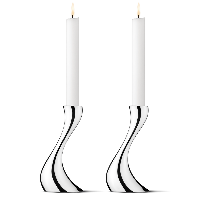 Cobra Candleholders, Small, Set/2