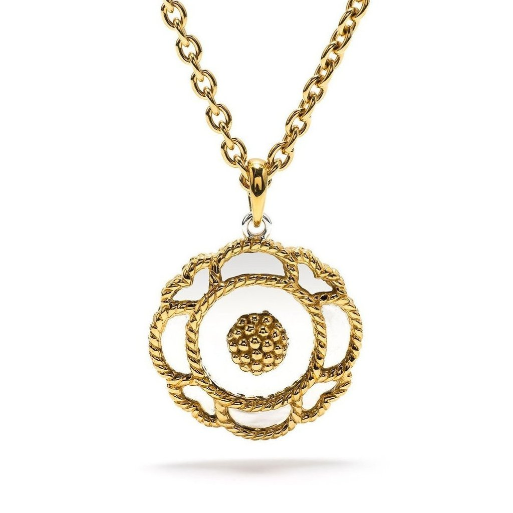 Capucine Grande Solid Pendant Necklace