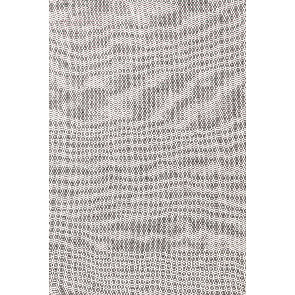Honeycomb Woven Wool Rug, Ivory/Grey