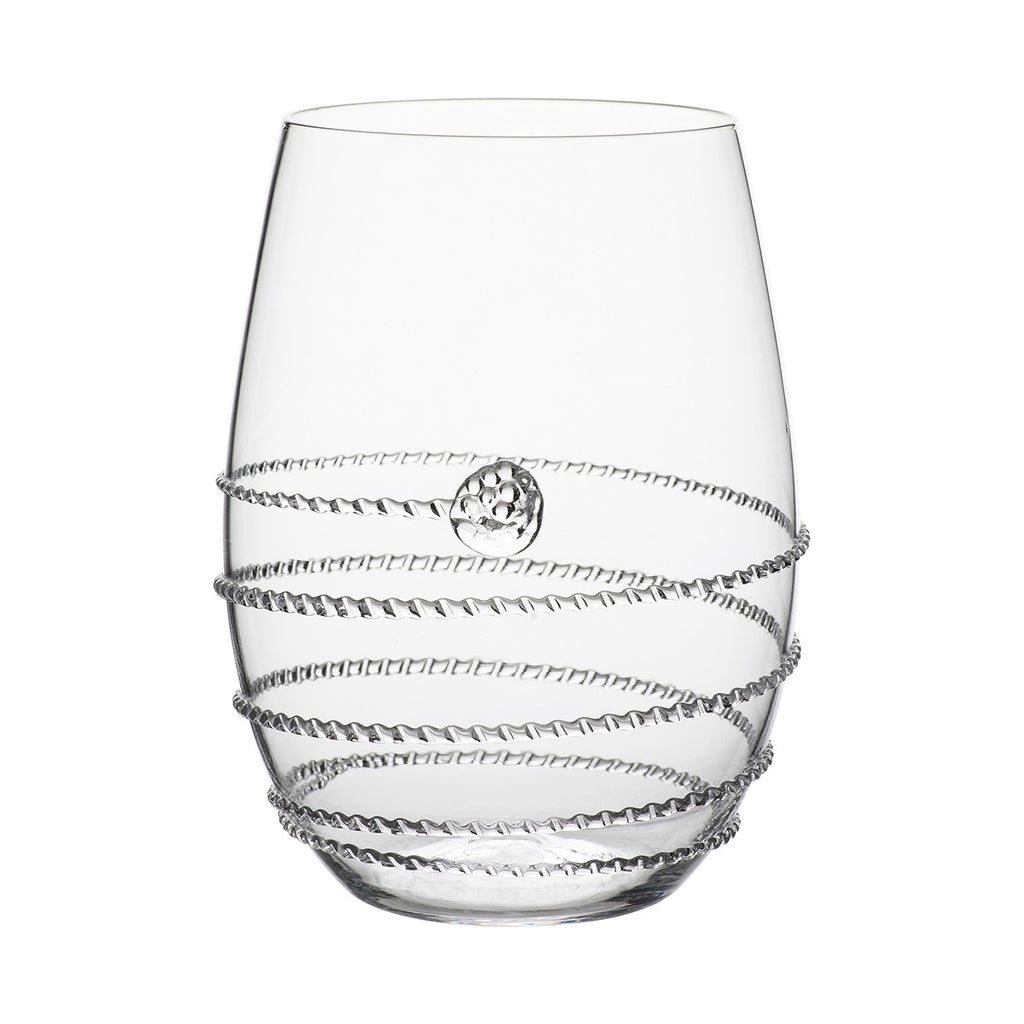 Amalia Stemless White Wine Glass