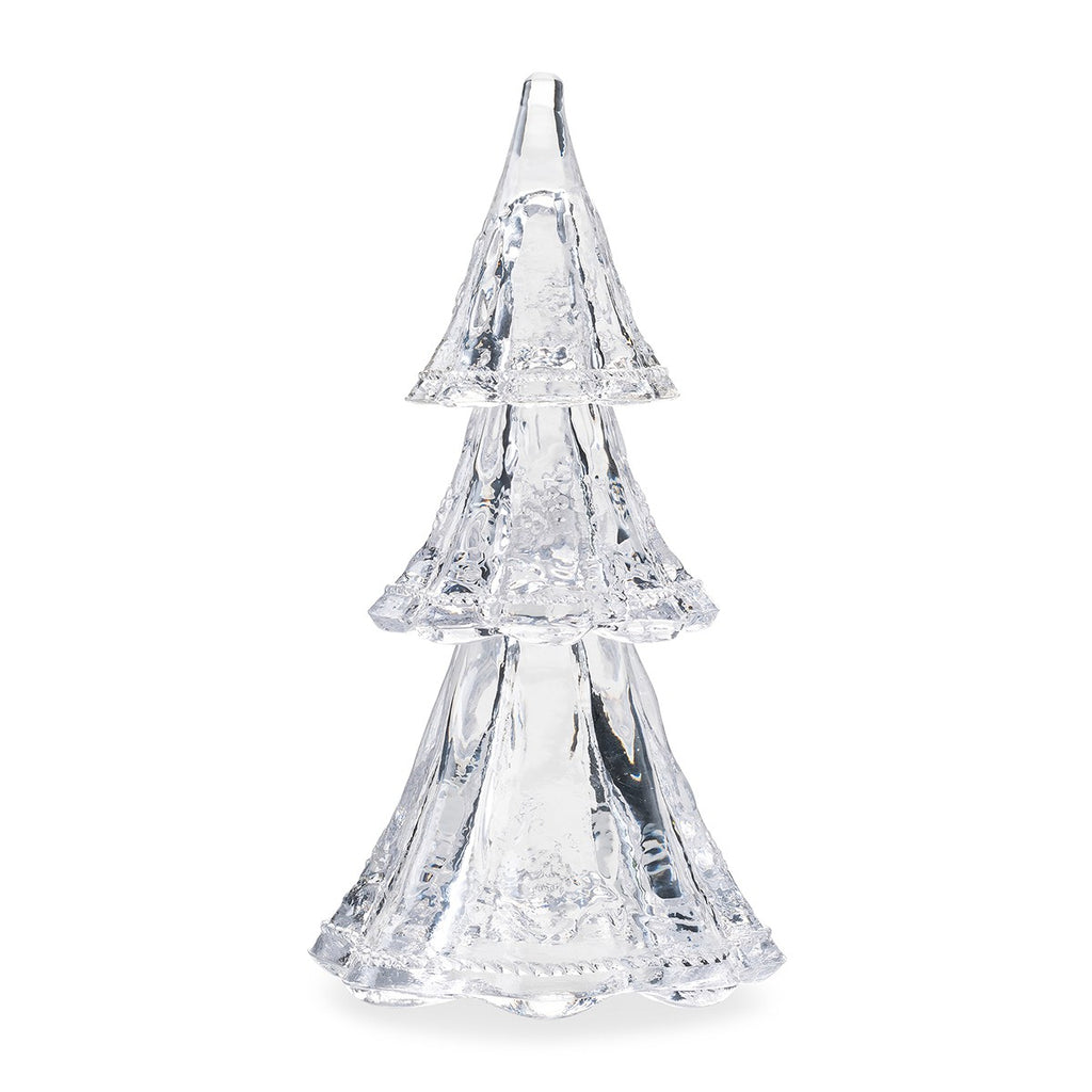 "Berry & Thread 9"" Clear Stackable Glass Tree, Set/3"