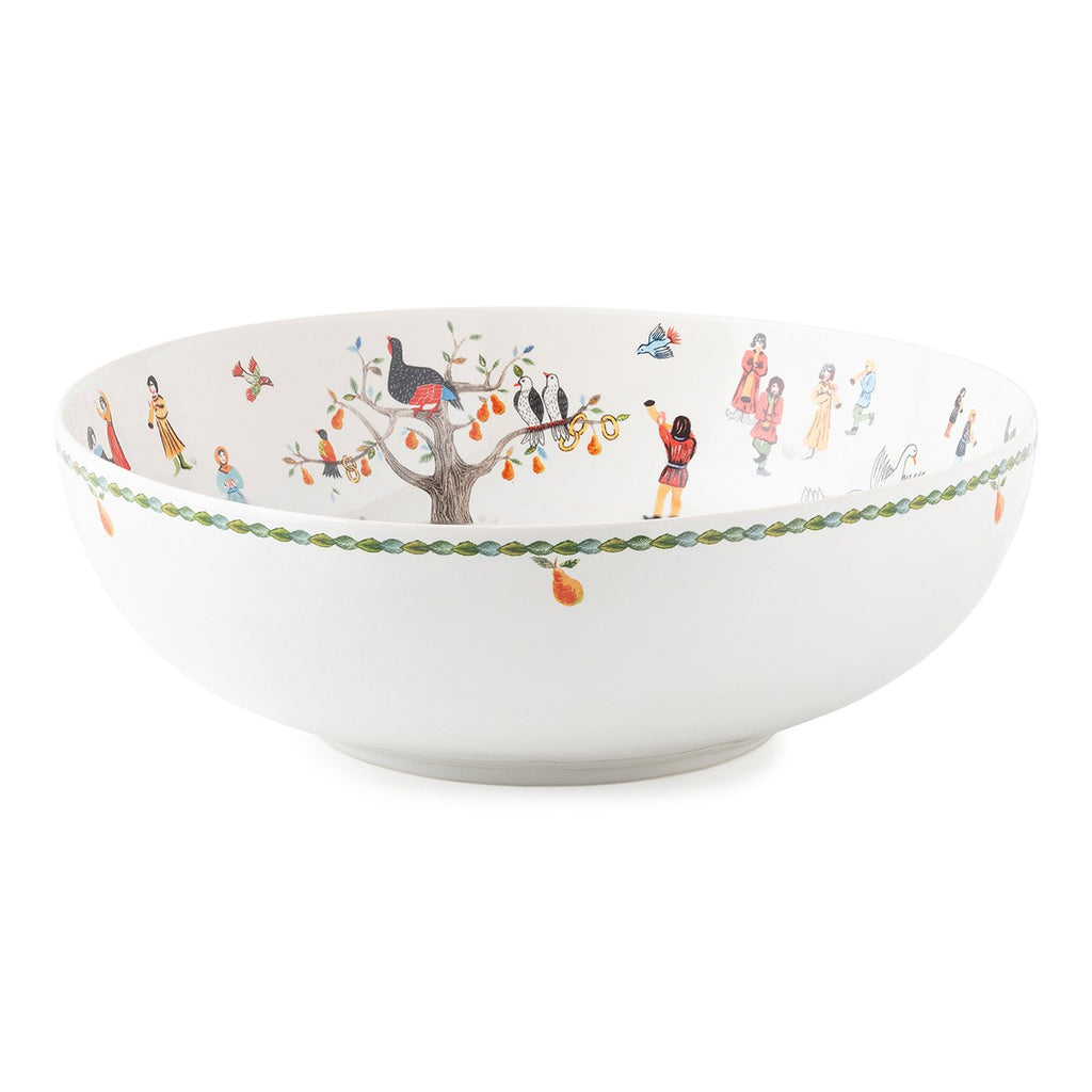"Twelve Days of Christmas 11"" Serving Bowl"
