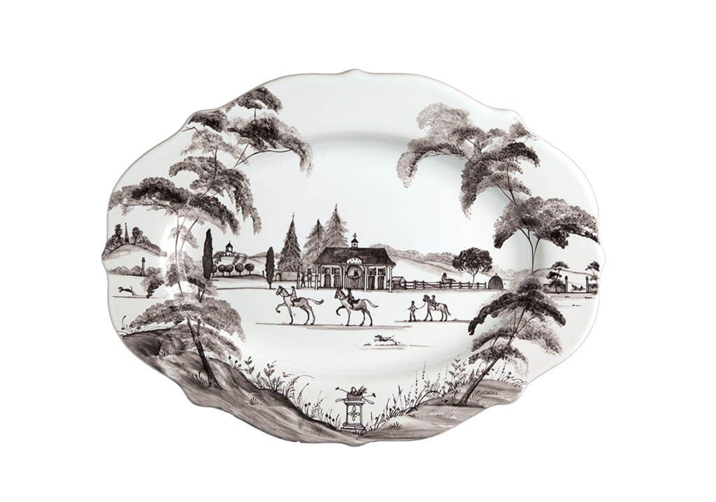 "Country Estate Flint 15"" Serving Platter"