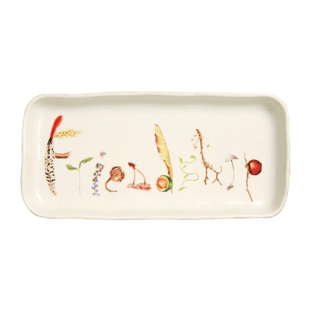 "Forest Walk ""Friendship"" Tray, 10.5"""