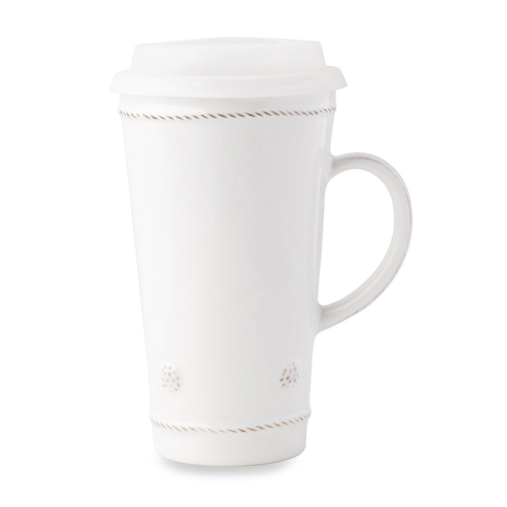 Berry & Thread Whitewash Travel Mug