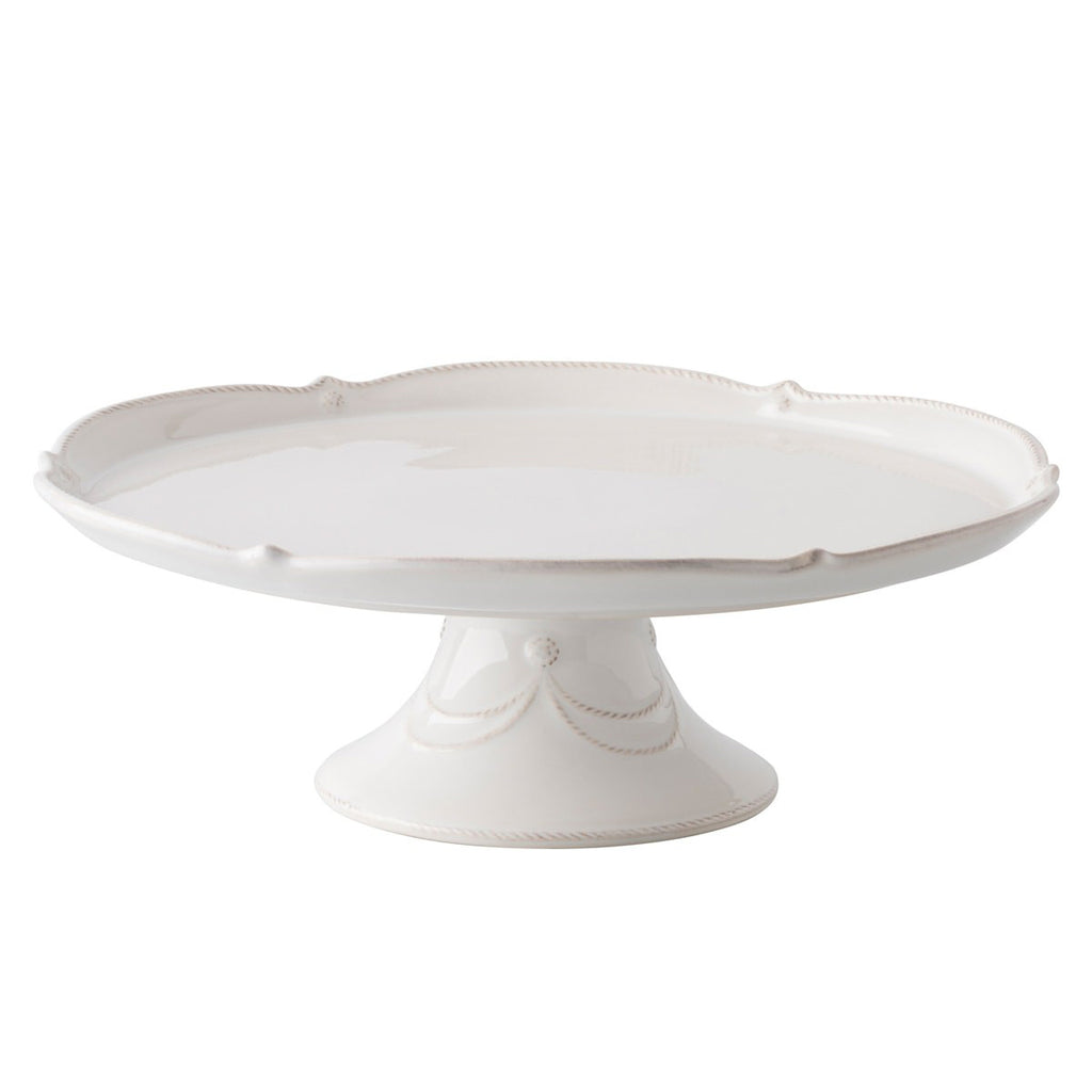 "Berry & Thread Whitewash 14"" Cake Stand"