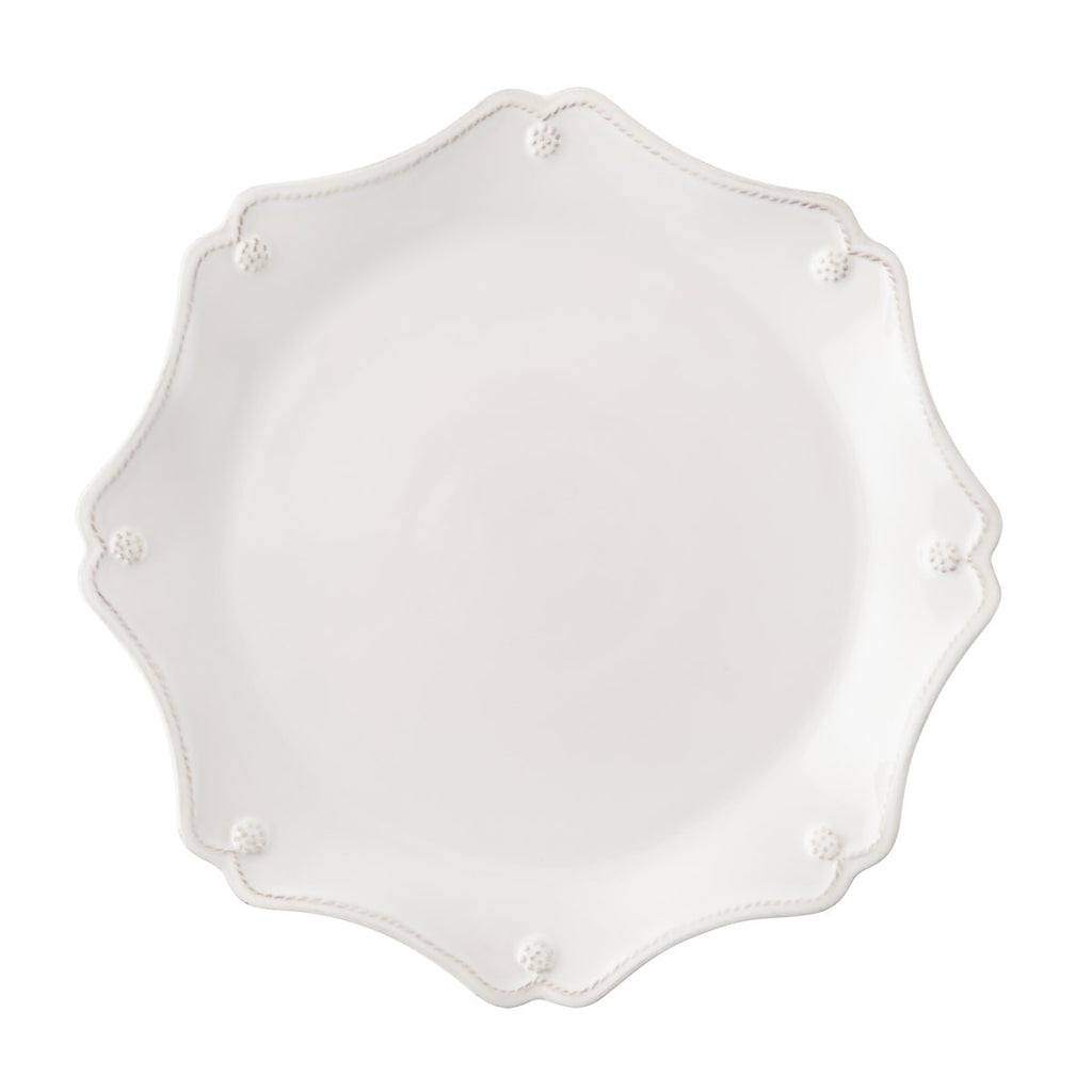 Berry & Thread Whitewash Scallop Charger Plate