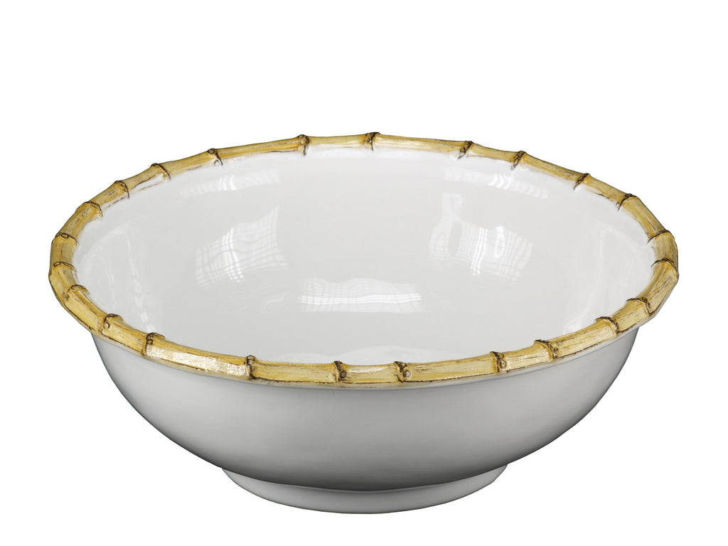 "Classic Bamboo 11"" Serving Bowl"