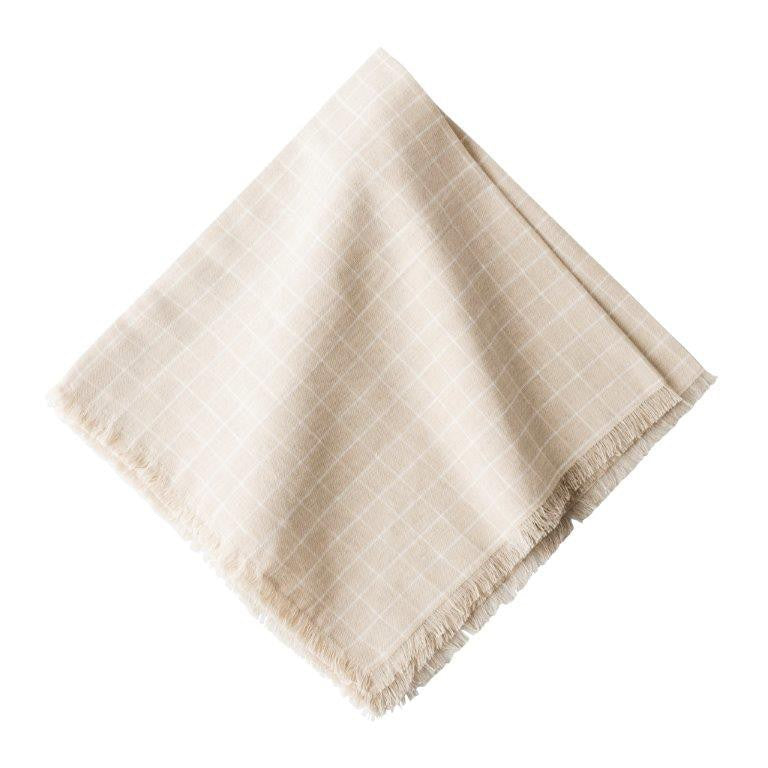 Windowpane Flax Napkins, Set/4