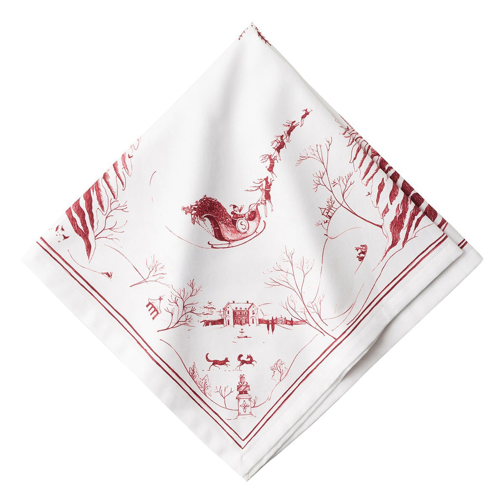 Country Estate Winter Frolic Napkins, Set/4