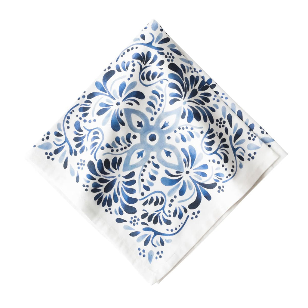 Iberian Journey Indigo Napkins, Set/4