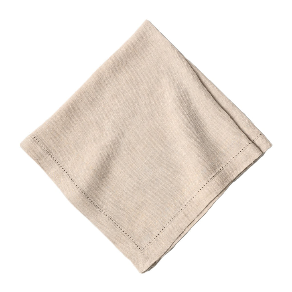 Heirloom Linen Flax Napkins, Set/4