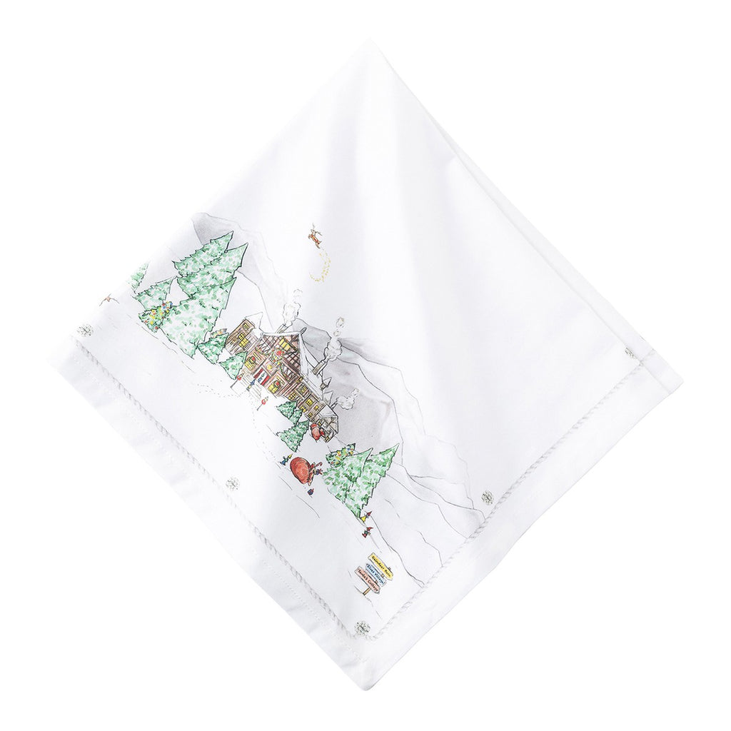 Berry & Thread North Pole Napkin, Set/4