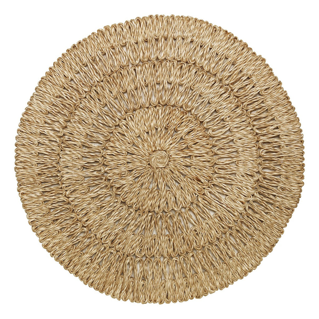 Straw Loop Natural Placemats, Set/4