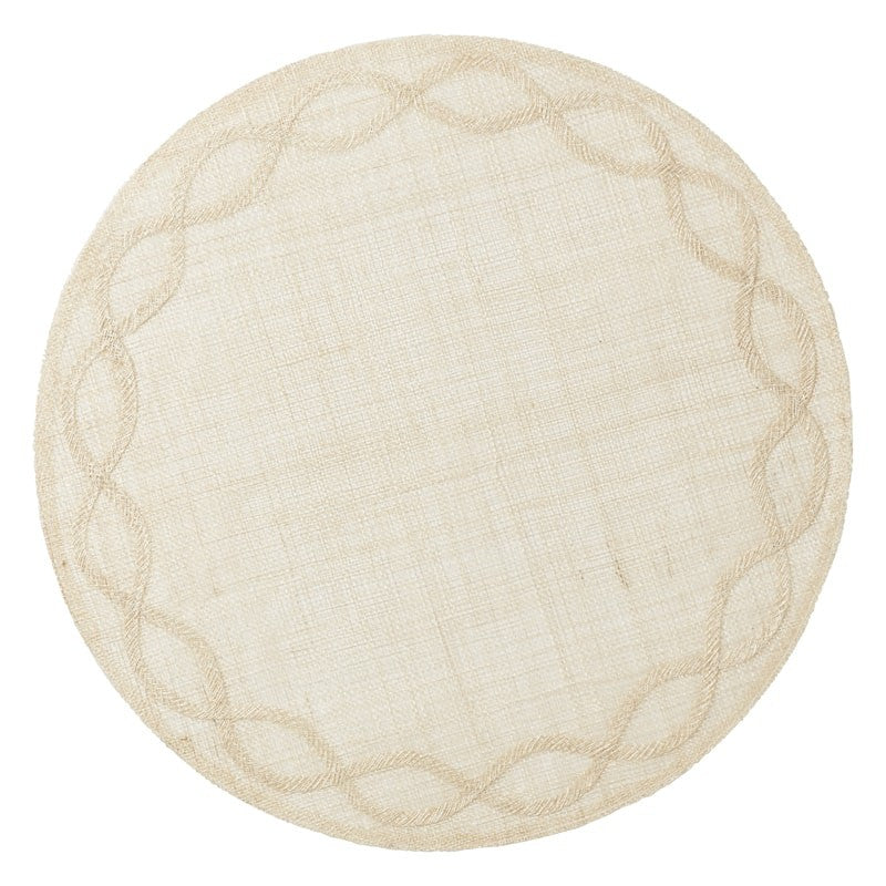 Tuileries Garden Natural Placemats, Set/4
