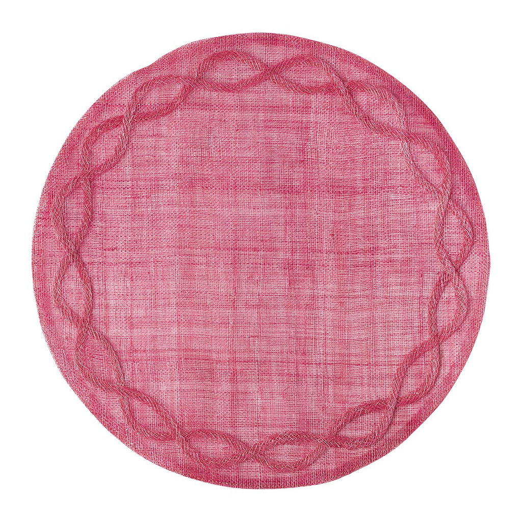 Tuileries Garden Pink Placemats, Set/4