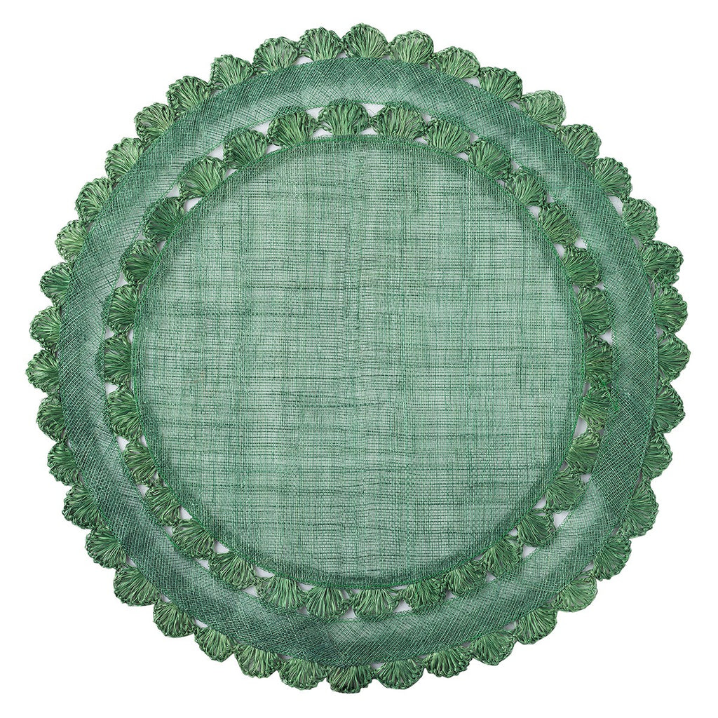 Isadora Evergreen Placemat, Set/4