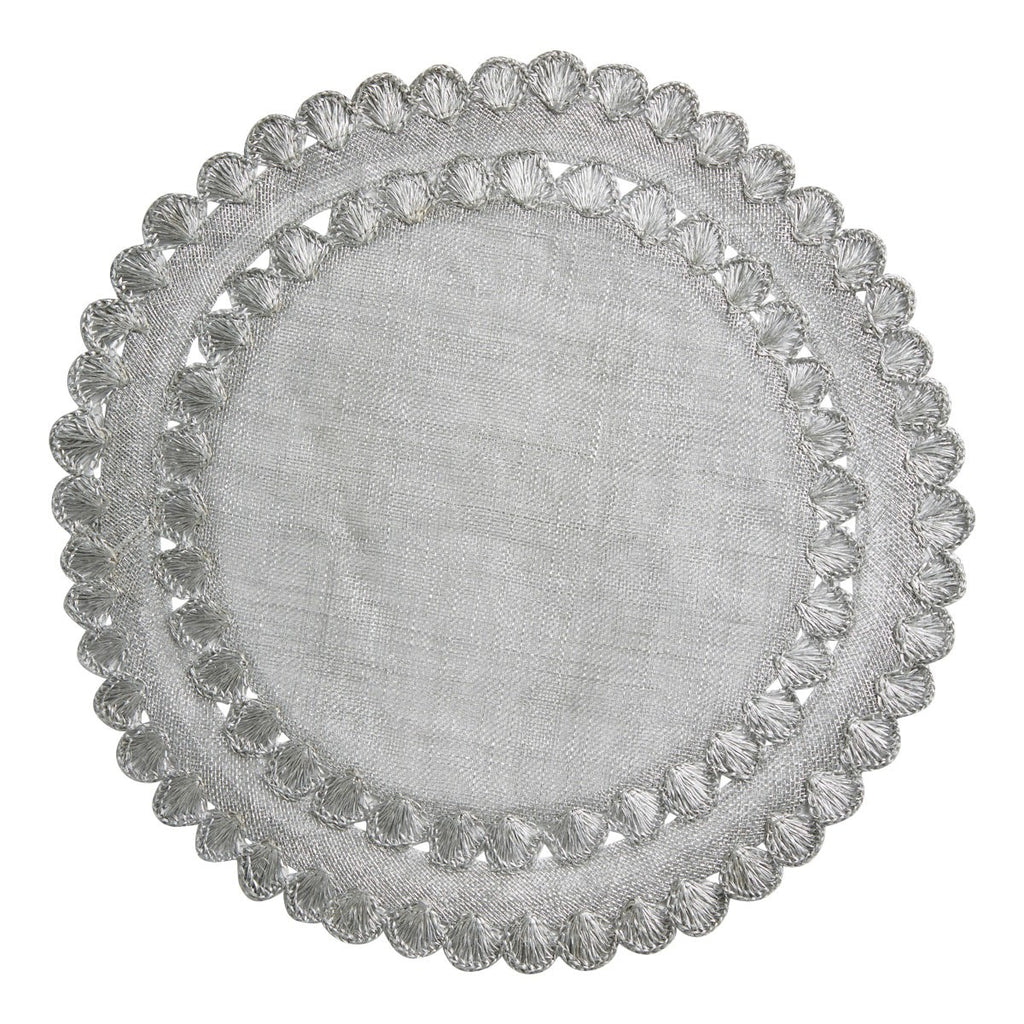 Isadora Silver Placemats, Set/4