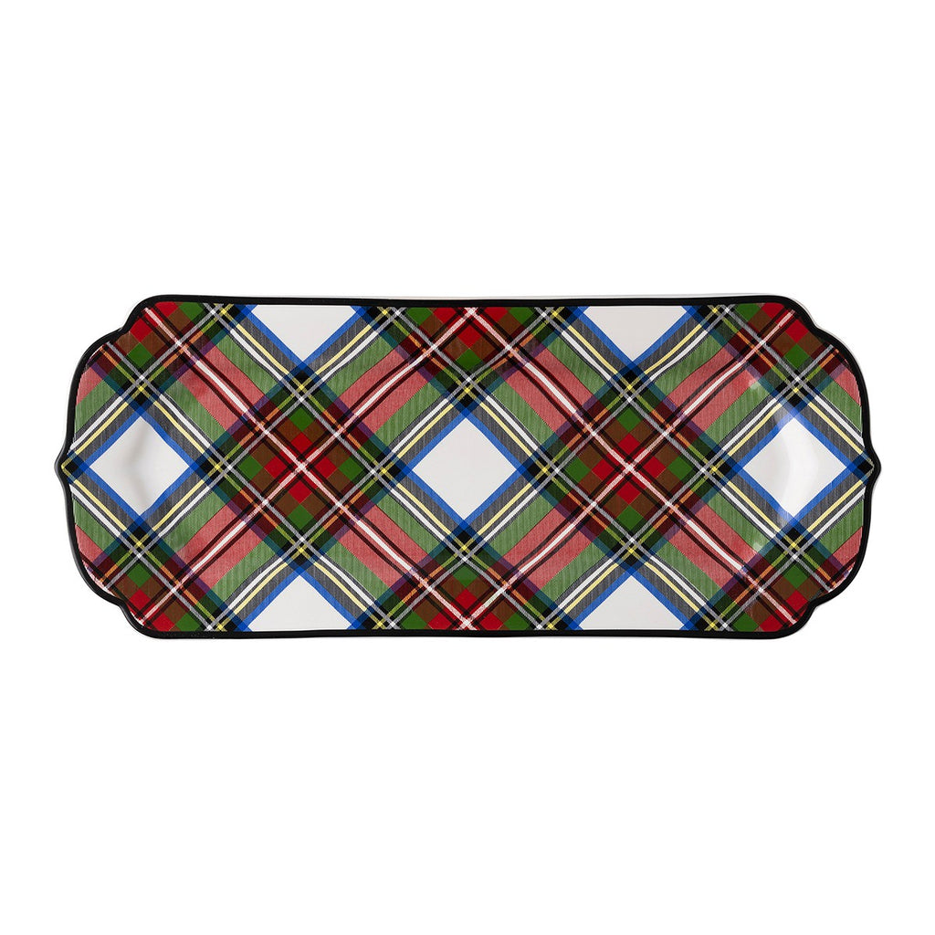 Stewart Tartan Hostess Tray