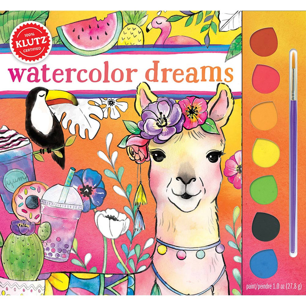 Watercolor Dreams Book