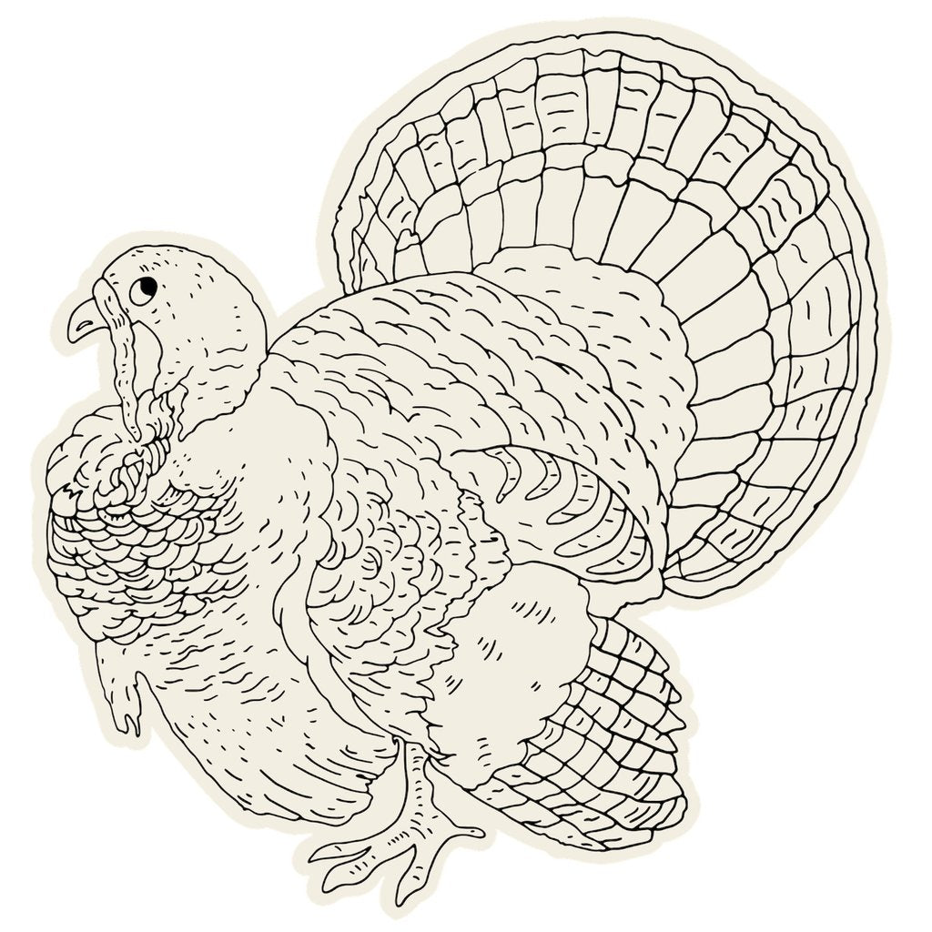 Coloring Turkey Placemats