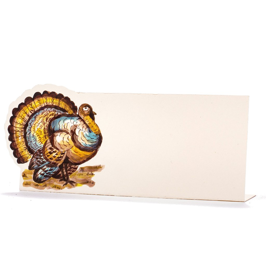 Thanksgiving Turkey Place Cards, Set/12