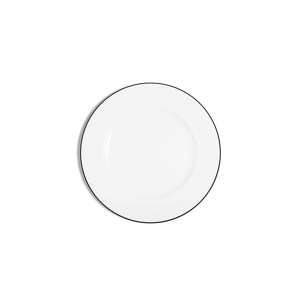 Line Rimmed Bread and Butter Plate