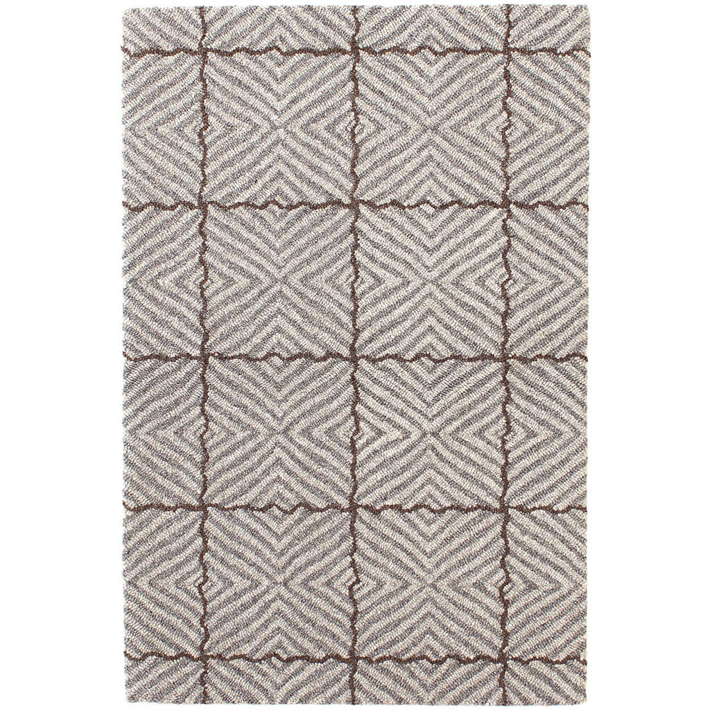 Nigel Grey Micro Hooked Wool Rug
